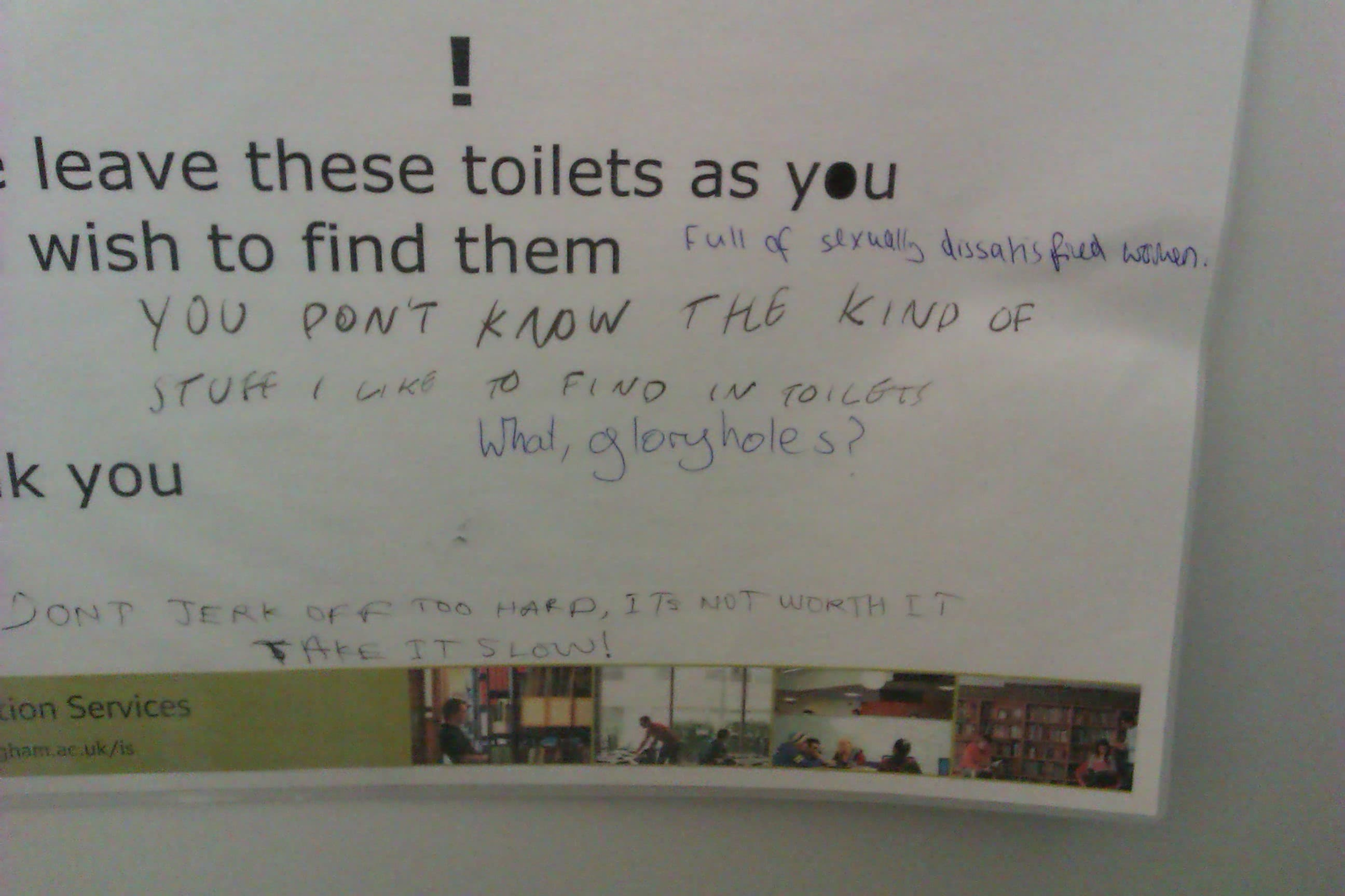 Post-modern or just shit? The best of toilet graffiti art | Impact ...