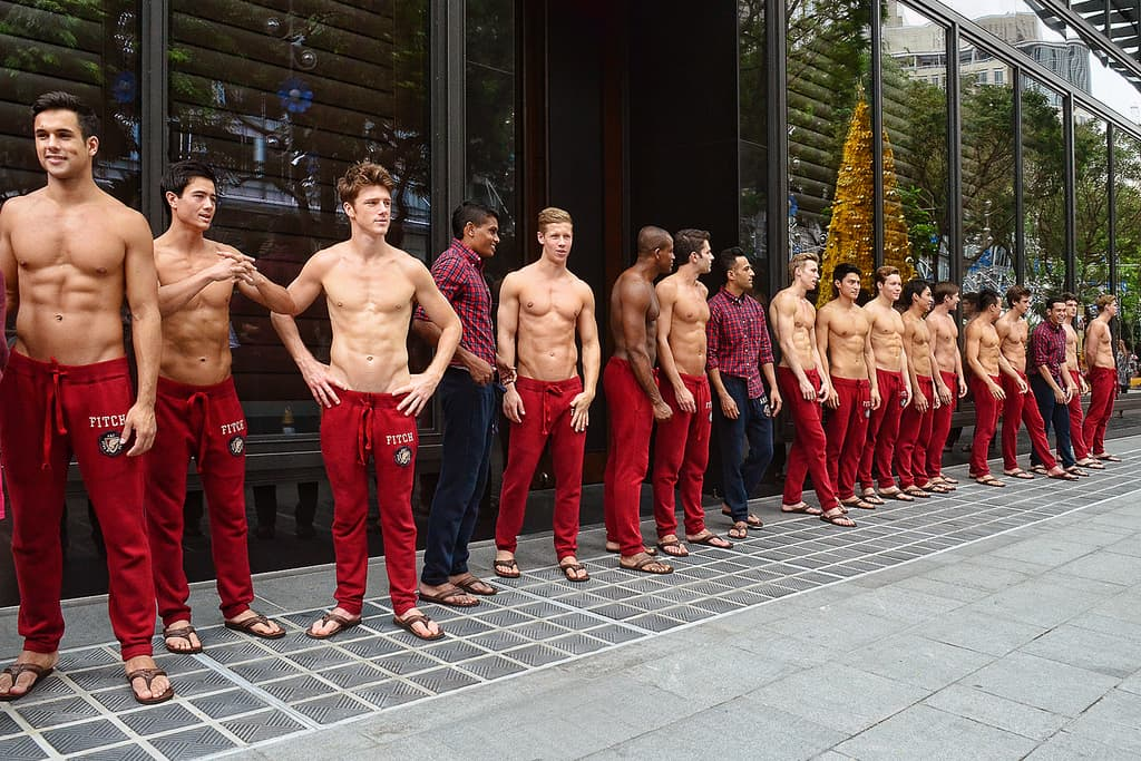 The University defends decision to invite Abercrombie and Fitch to careers fair