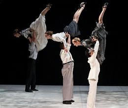 Northern Ballet dancers in David Nixon's A Midsummer Night's Dream. Photo Emma Kauldhar