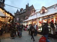 """A winter wonderland in a sea of depression"": Nottingham Christmas Market"