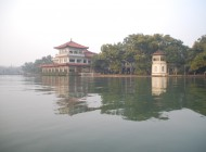 Calm in the storm: West Lake, Hangzhou