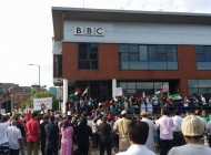 """The BBC are cheating the public with this biased portrayal"": Nottingham Protest Against Israeli Strikes and BBC 'Bias'"