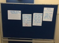UoN students protest ATOS recruiting on campus