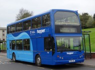 Hopper Bus involved in Collision on Beeston Road