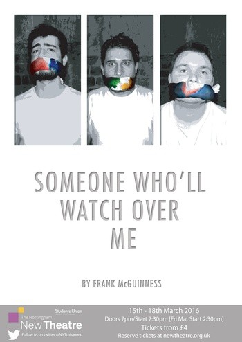 someone wholl watch over me essay Listen: someone who'll watch over me has a two night run at garter lane this week waterford, ireland / wlr mary o'neill march 14, 2018 12:48 pm starting tonight (wednesday march 14th,) this frank mcguinness play tells the story of three men of different nationalities in a hostage.